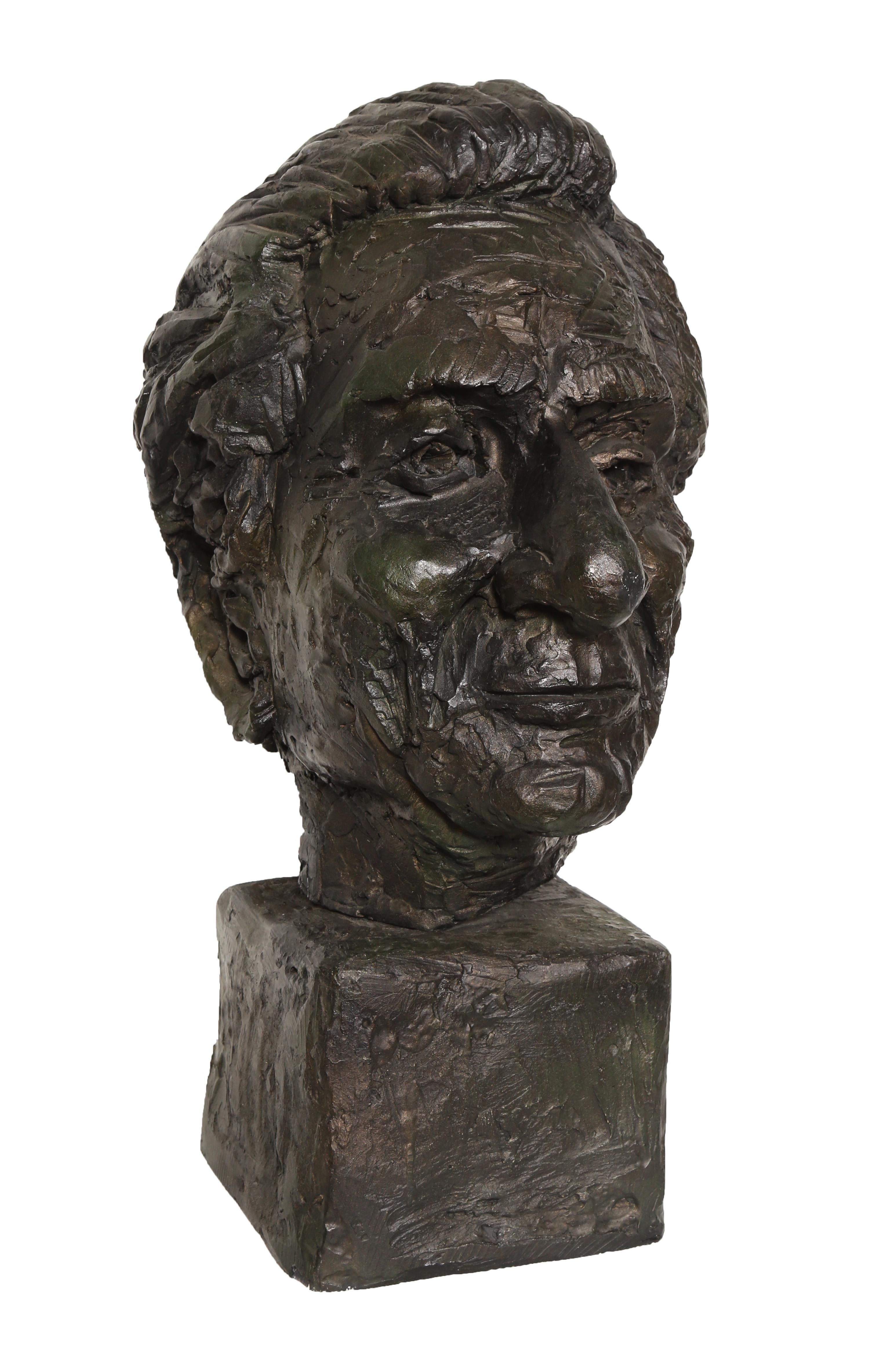 Bust of a Man, Sculpture by Paul von Ringelheim
