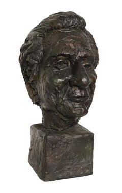 Bust of a Man, Sculpture by Paul von Ringelheim