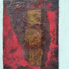 On The Town: Contemporary abstract expressionist oil painting by Paul Wadsworth