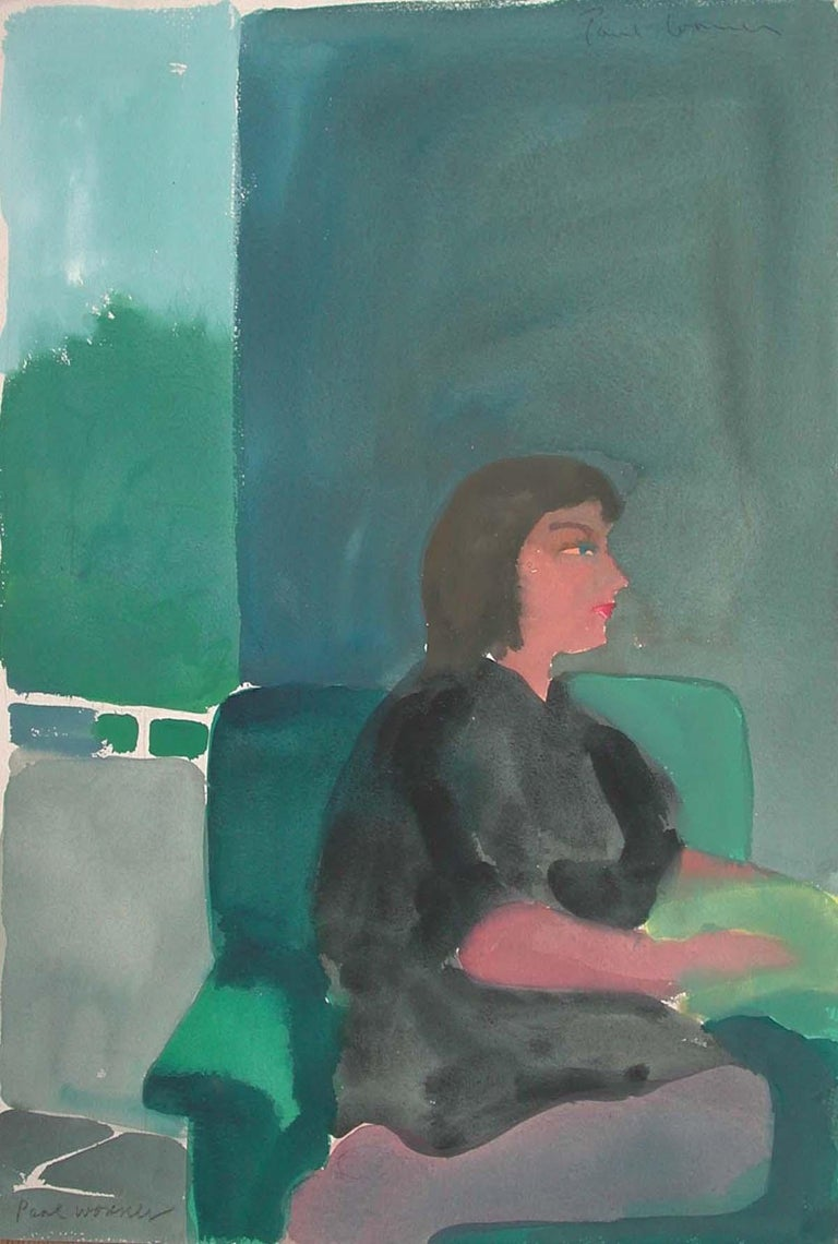 Paul Wonner was born in Tucson in 1920, and moved to the Bay Area for the first time to study at California College of Arts and Crafts in Oakland (now California College of the Arts), where he earned a Bachelor's degree in 1941. After military