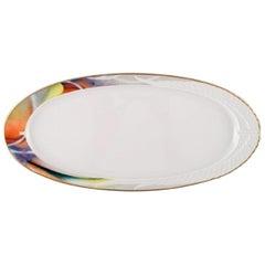 """Paul Wunderlich for Rosenthal, Large """"Mythos"""" Porcelain Serving Dish"""