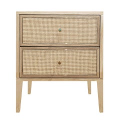 Paula Bedside Chest Natural Ash