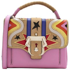 Paula Cademartori Dun Dun Star Pink Shoulder Bag