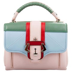 Paula Cademartori Multicolor Leather Dun Dun Top Handle Bag