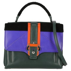Paula Cademartori  Women   Shoulder bags   Black, Green, Purple Leather