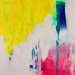 Paula Cherry, Daydreamer, Original abstract painting