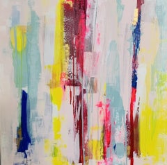 Paula Cherry, Whisper, Original Abstract Painting, Affordable Art