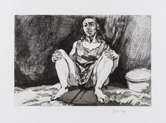 Untitled [Abortion] -- Print, Etching, Woman, Feminist Art by Paula Rego