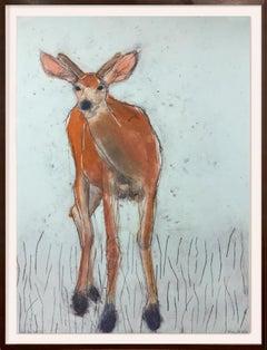 Who Are You...Again? 7/15 (deer, whimsy, sea foam green, chestnut, black)