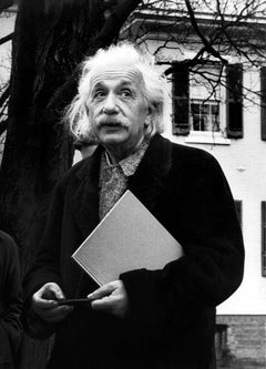 Candid Albert Einstein Fine Art Print