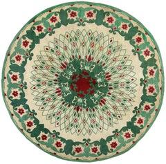 Paule Leleu Vintage Circular Rug
