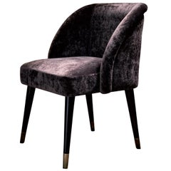 Pauline Brown Dining Chair by Dom Edizioni