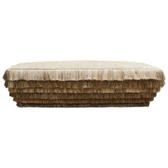 Pauline Esparon Flax Fluffy Bench, L'écoucheur Collection