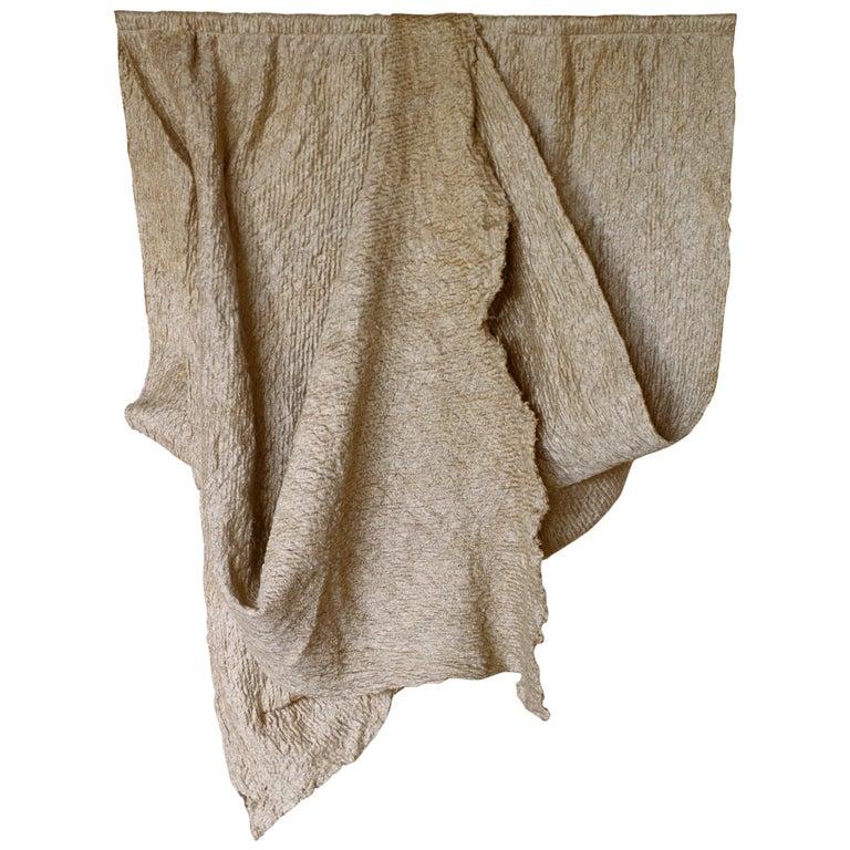 Pauline Esparon Flax Textile, L'écoucheur Collection For Sale