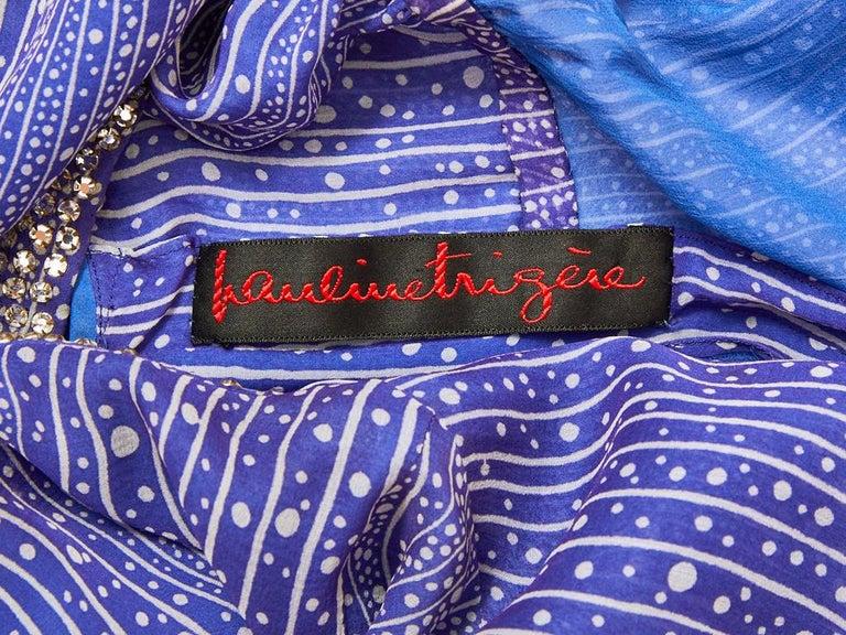 Pauline Trigère  Celestial Pattern Tunic and Pant Ensemble  For Sale 2