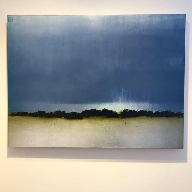 As Light Fades - Painting by Pauline Ziegen