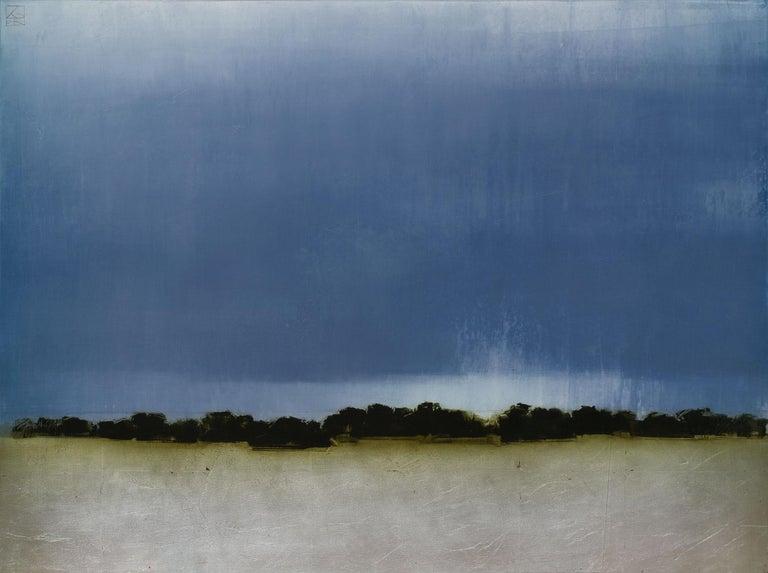 Pauline Ziegen Landscape Painting - As Light Fades