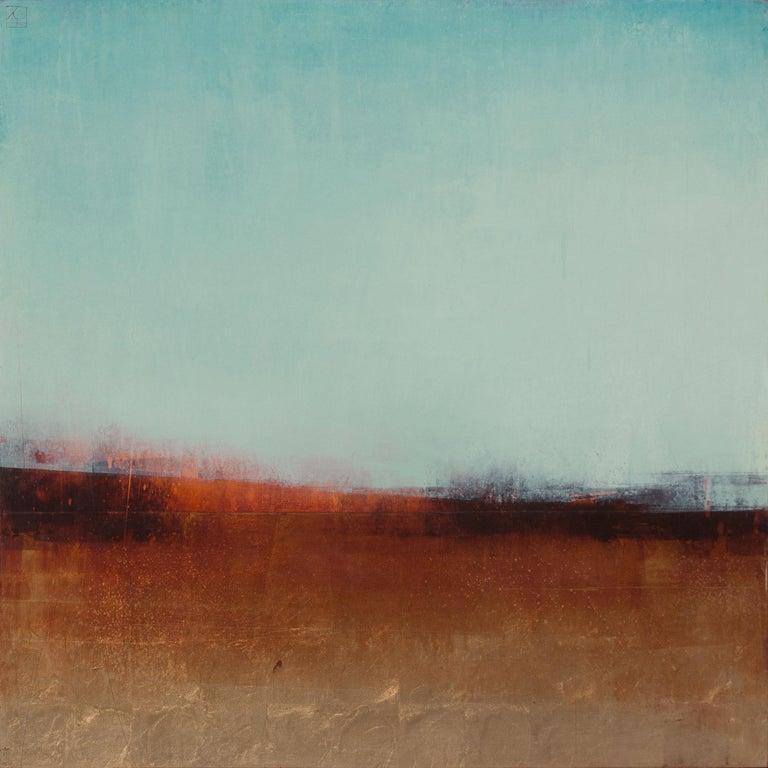Pauline Ziegen Landscape Painting - Silence of Autumn