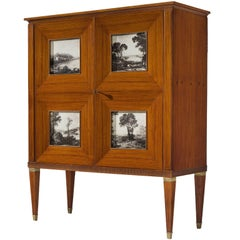 Paolo Buffa Large Liquor Cabinet