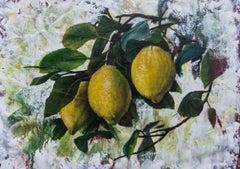 Murmur of tender leaves, Painting, Oil on Canvas