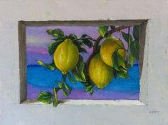 """""""Murmur of tender leaves"""", Painting, Oil on Canvas"""