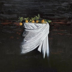 Oranges III, Painting, Oil on Canvas