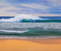 Secrets of the sea, Painting, Oil on Canvas