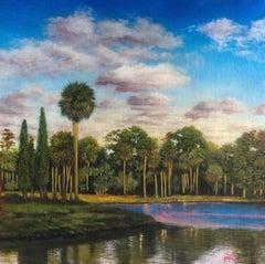 """Whisper platitudes"", Painting, Oil on Canvas"