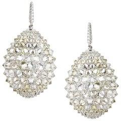 Pave Diamond Ear Pendants by Umarao
