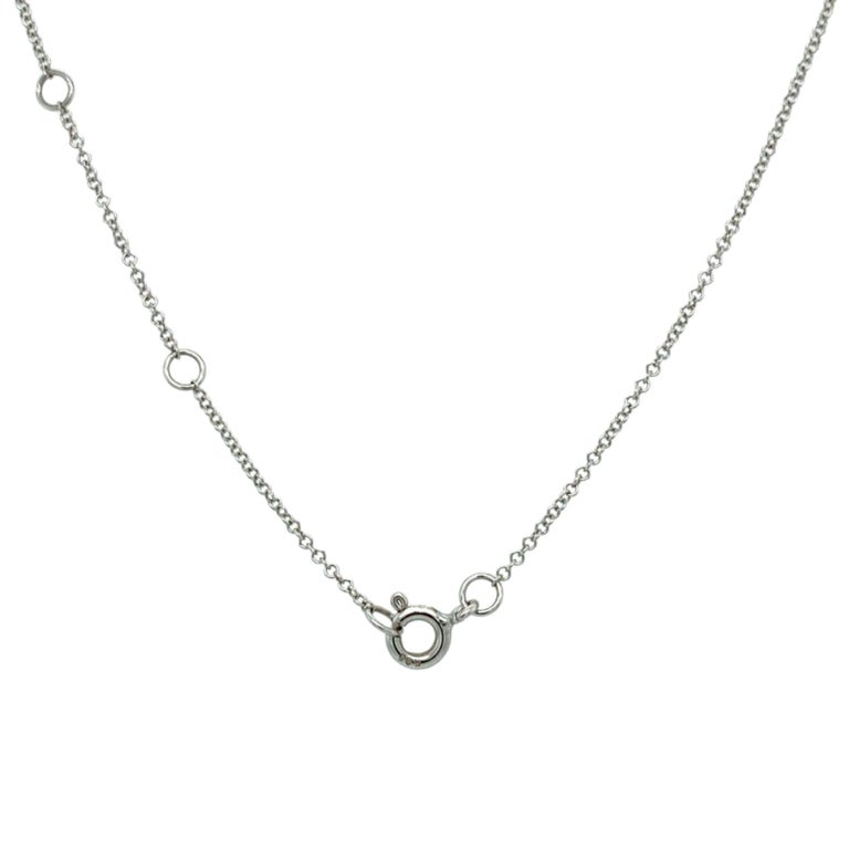 Contemporary Pavee Diamond Pendant Necklace For Sale