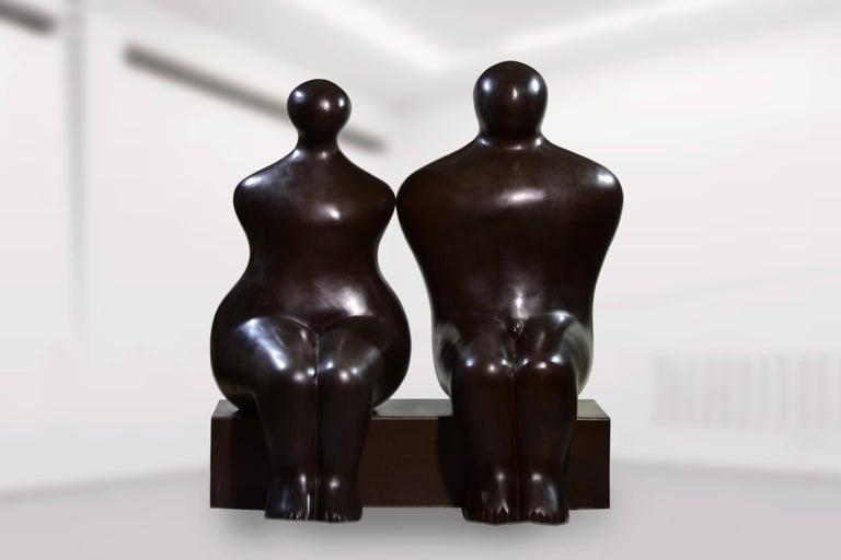 Seated Couple 1