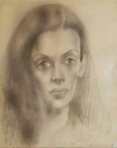 Portrait of Bachoo Dinshaw, Countess Woronzow
