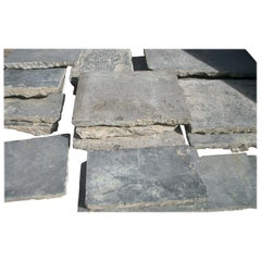 Paving Slabs in Old,  Belgian Bleu Stone