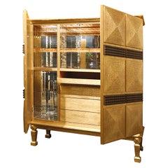Pavo Bar Cabinet