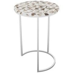 Pavonia Table, Half Moon