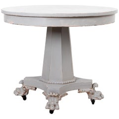 Paw Foot Empire Style Center or Breakfast Table