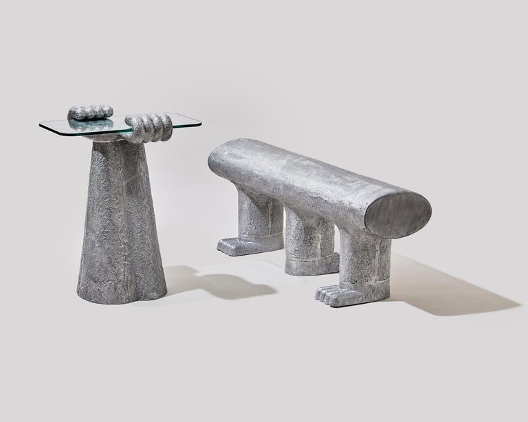 South Korean Paw Side Table by Hakmin Lee For Sale