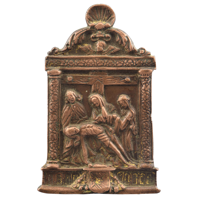 Pax or Pax Board, Bronze, Spain, 16th Century