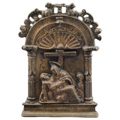 Pax or Pax Board, Bronze, Spain, 16th Century