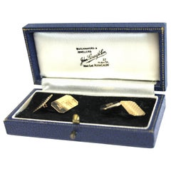 Payton Pepper & Sons Ltd 9 Karat Yellow Gold Cufflinks