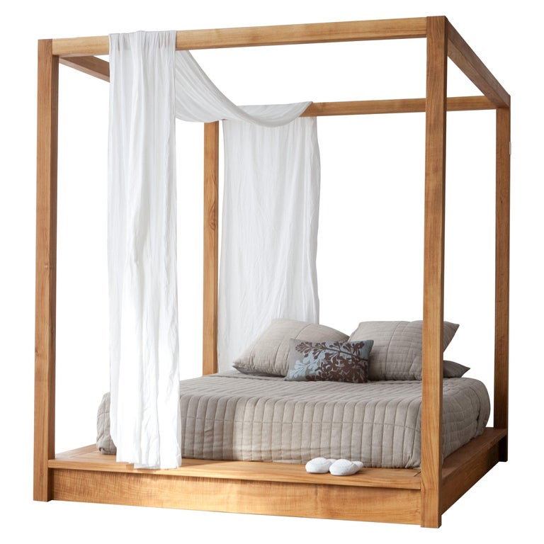 PCH King Canopy Bed For Sale