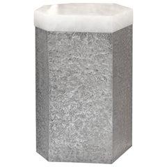 SAN iv Rock Crystal Side Table by Phoenix
