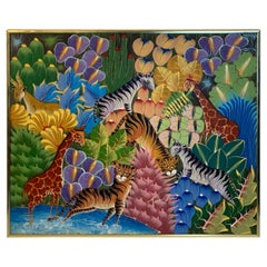 """Peaceable Jungle"" by Fritzner Lamour"