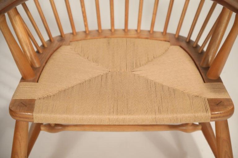 Peacock Chair by Hans Wegner for Johannes Hansen, 1960s Denmark, Signed For Sale 6
