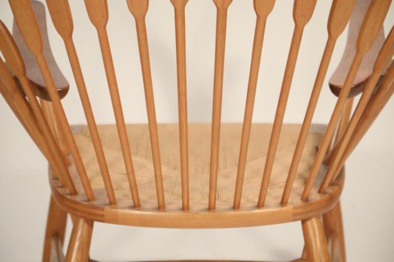 Peacock Chair by Hans Wegner for Johannes Hansen, 1960s Denmark, Signed For Sale 12