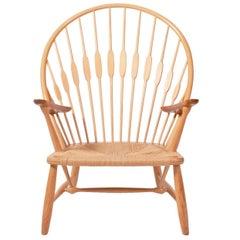 Pfauen Stuhl, von Hans Wagner für Johannes Hansen