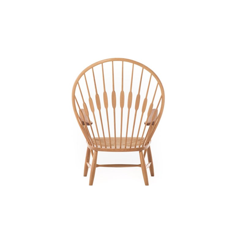 Oiled Peacock Chair by Hans Wegner For Sale