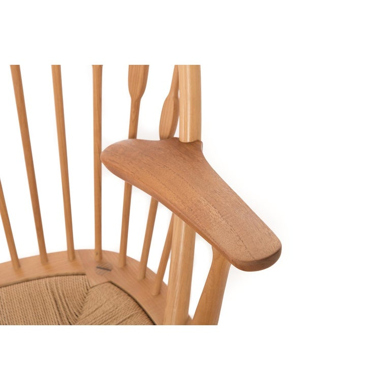 Peacock Chair by Hans Wegner In Excellent Condition For Sale In Minneapolis, MN