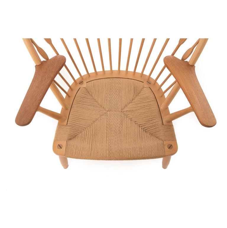 Ash Peacock Chair by Hans Wegner For Sale