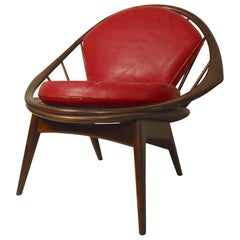 Peacock Chair by Ib Kofod-Larsen